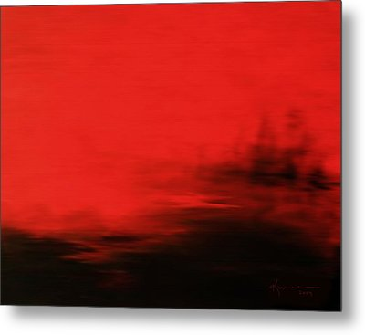 At Dusk Metal Print by Kume Bryant