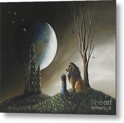 At Midnight By Shawna Erback Metal Print by Shawna Erback