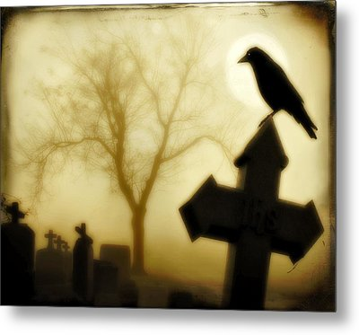 At Midnight Metal Print by Gothicrow Images