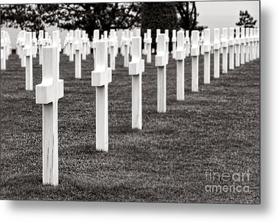 At Normandy Metal Print