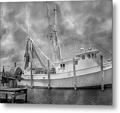 At Rest In The Harbor Metal Print by Betsy Knapp