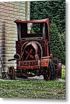 Metal Print featuring the photograph At Rest by Ron Roberts