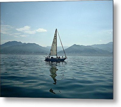 At Sea Metal Print by Kathy Bucari
