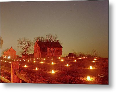 Metal Print featuring the photograph At The Cornfield 12 by Judi Quelland