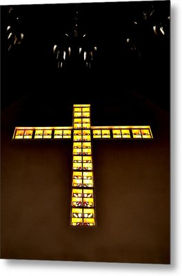 Metal Print featuring the photograph At The Cross by Deena Stoddard