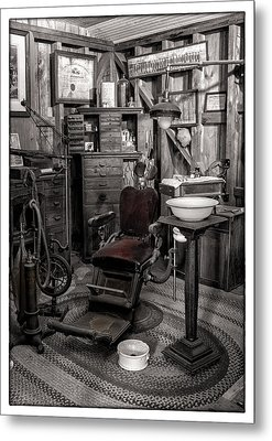 At The Dentist Metal Print by Marzena Grabczynska Lorenc