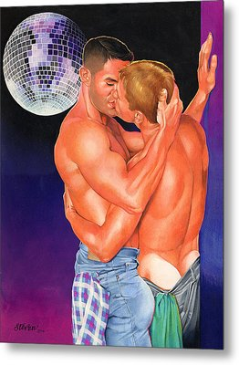 At The Disco Metal Print by Steven Stines