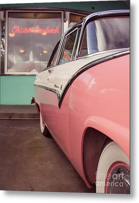 At The Drive In 11x14 Standard  Metal Print by Edward Fielding