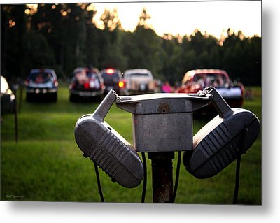 At The Drive-in - Before The Show Metal Print