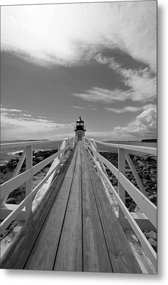 At The End Metal Print by Becca Brann