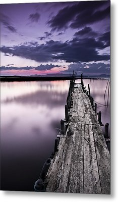 At The End Metal Print by Jorge Maia