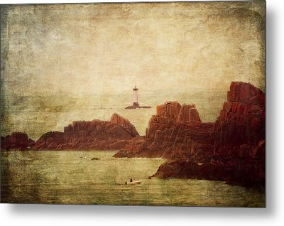At The Entrance Of The Mont Saint-michel Bay Metal Print by Loriental Photography
