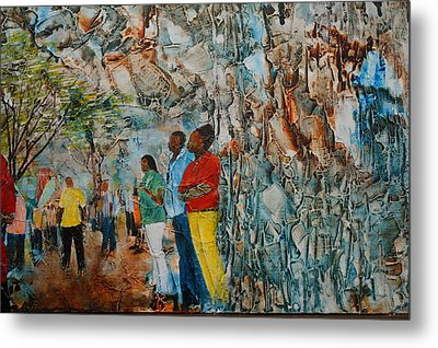At The Festival  Metal Print by Ronex Ahimbisibwe