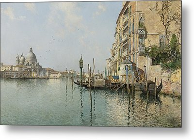 At The Mouth Of The Grand Canal Metal Print by Celestial Images
