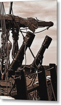 At The Ready Metal Print