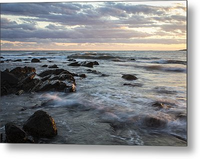 At The Water's Edge Metal Print by Andrew Pacheco
