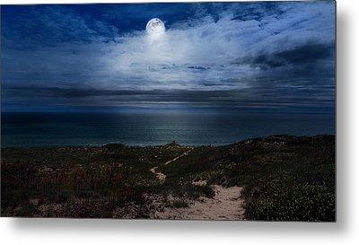 Atlantic Moon Metal Print