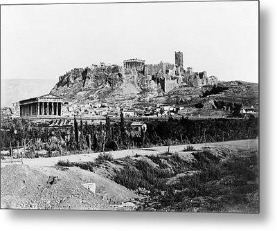 Athens Acropolis Metal Print by Granger