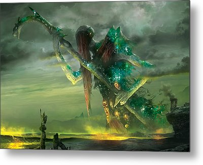 Athreos God Of Passage Metal Print by Ryan Barger