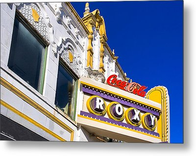 Atlanta Roxy Theatre Metal Print by Mark E Tisdale