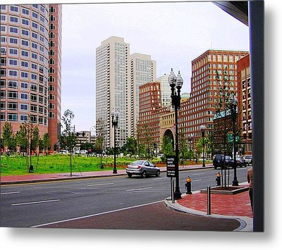 Atlantic Avenue Metal Print