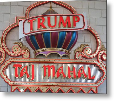 Atlantic City - Trump Taj Mahal Casino - 12121 Metal Print