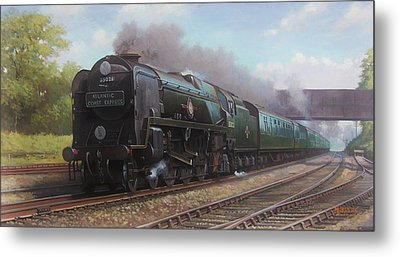 Atlantic Coast Express Metal Print by Mike  Jeffries