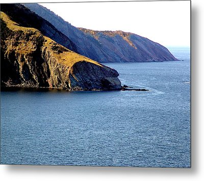 Atlantic Headlands Metal Print by George Cousins