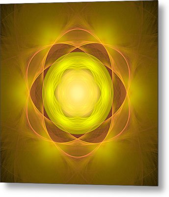 Atome-35 Metal Print by RochVanh