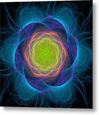 Atome-48 Metal Print by RochVanh