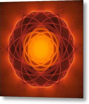 Atome-64 Metal Print by RochVanh