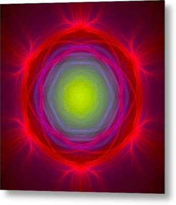 Atome-65 Metal Print by RochVanh