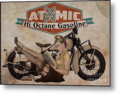 Atomic Gasoline Metal Print by Cinema Photography