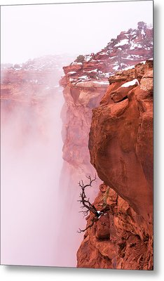 Atop Canyonlands Metal Print by Chad Dutson