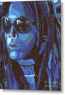 Attitude Metal Print by Candice Waits