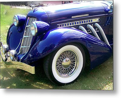Metal Print featuring the photograph Auburn  by Larry Bishop