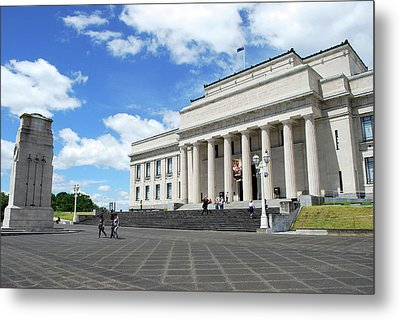 Auckland Museum, Auckland, New Zealand Metal Print by Lynn Seldon