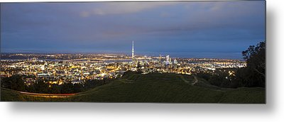 Auckland Nights Metal Print by David Yack
