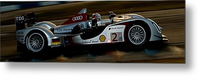 Audi Formula 1 Race Car Metal Print by Marvin Blaine