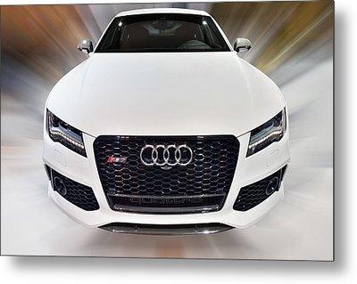 Audi  R S 7 Quattro 2014 Metal Print