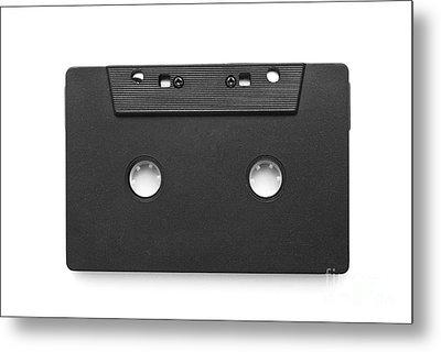 Audio Cassette Tape Metal Print
