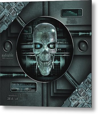 Audiophile Metal Print
