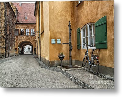 Metal Print featuring the photograph Augsburg Germany by Paul Fearn