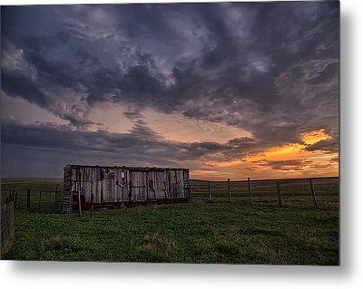 August Boxcar Metal Print by Thomas Zimmerman