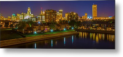 August Night In Buffalo Metal Print by Don Nieman