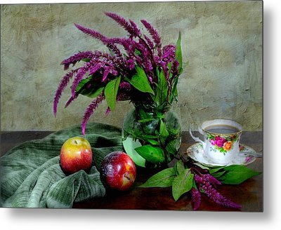 August Still Metal Print by Diana Angstadt