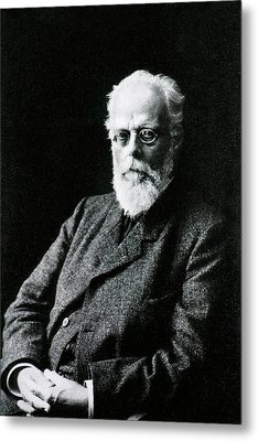 August Weismann Metal Print by National Library Of Medicine
