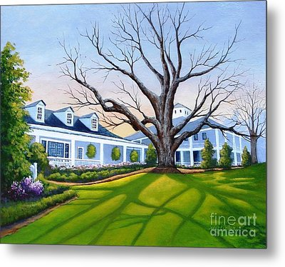 Augusta National Clubhouse Metal Print