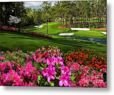 Augusta Azaleas 16th And 6th Metal Print by Tim Gilliland