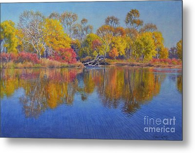 Autumn Glow 1 Metal Print